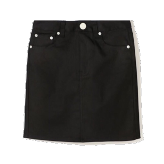 このコーデで使われているGRLのタイトスカート[ブラック]