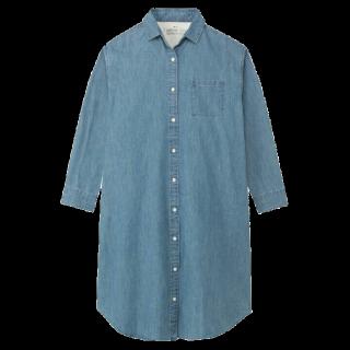 MUJI(無印良品)のシャツワンピ