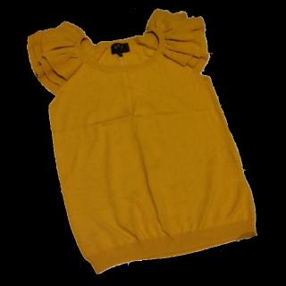 このコーデで使われているagnes b.のTシャツ/カットソー[イエロー]