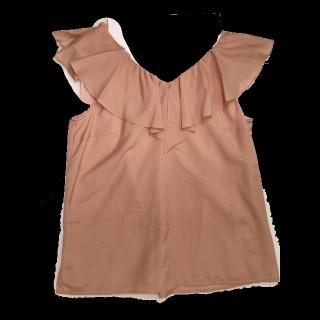 このコーデで使われているJUSGLITTYのシャツ/ブラウス[キャメル]