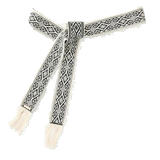 このコーデで使われているROPE' mademoiselleのベルト[ブラック]