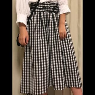 WEGOのマキシ丈スカート
