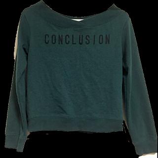 このコーデで使われているGUのTシャツ/カットソー[グリーン]