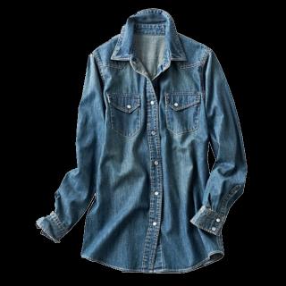 このコーデで使われているGAPのシャツ/ブラウス[ネイビー]