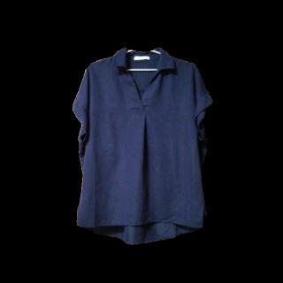 このコーデで使われているLOWRYS FARMのシャツ/ブラウス[ネイビー]