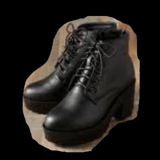 このコーデで使われているRETRO GIRLのブーツ[ブラック]