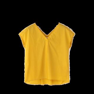 このコーデで使われているPLSTのTシャツ/カットソー[イエロー]
