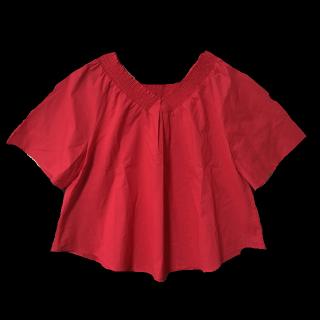 このコーデで使われているJENAのシャツ/ブラウス[レッド]