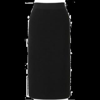 このコーデで使われているUNIQLOのタイトスカート[ブラック]