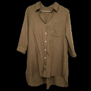 このコーデで使われているグローバルワークスのシャツ/ブラウス[カーキ]