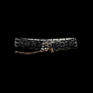 このコーデで使われているH&Mのネックレス[ブラック/ゴールド]