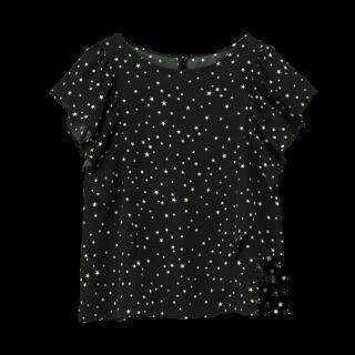 このコーデで使われているGUのシャツ/ブラウス[ブラック]