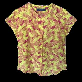 このコーデで使われているCiaopanicのシャツ/ブラウス[イエロー/ブラウン]
