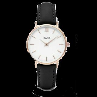 このコーデで使われているCLUSEの腕時計[ブラック]