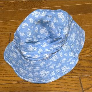 このコーデで使われている帽子[ブルー]