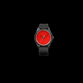 このコーデで使われている腕時計[ホワイト/ブラック/レッド]