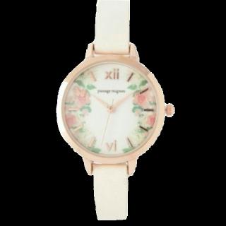 このコーデで使われているpassage mignonの腕時計[ベージュ]