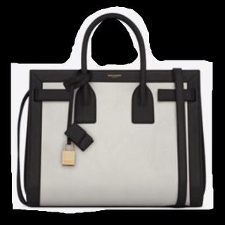 このコーデで使われているSaint Laurentのトートバッグ[ホワイト/ブラック]
