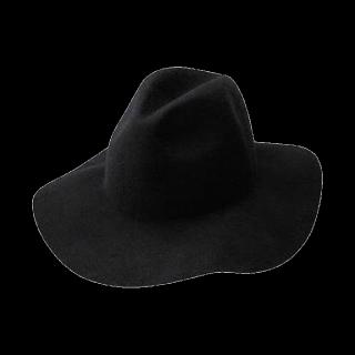 このコーデで使われているGUの女優帽[ブラック]