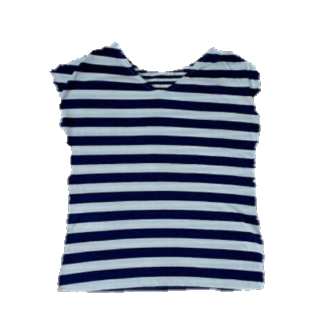 このコーデで使われているROOM903のTシャツ/カットソー[ホワイト/ネイビー]
