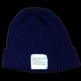 不明のニット帽