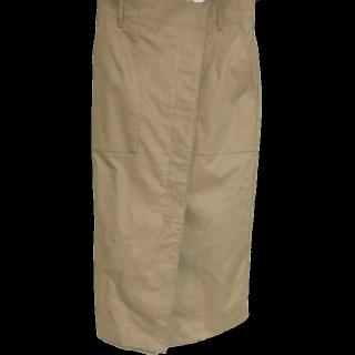 このコーデで使われているJOURNAL STANDARDのタイトスカート[ベージュ/キャメル/ブラウン]