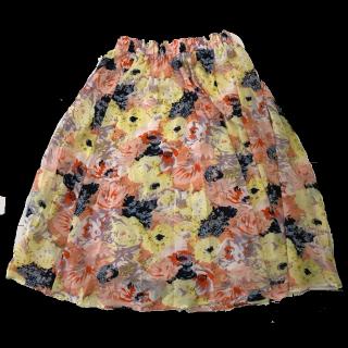 このコーデで使われているDurerのミモレ丈スカート[その他]