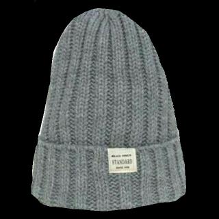 このコーデで使われているニット帽[グレー]