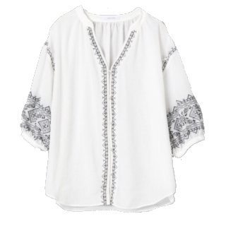 このコーデで使われているJEANASISのシャツ/ブラウス[ホワイト]