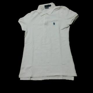 このコーデで使われているPOLO RALPH LAURENのポロシャツ[ホワイト]