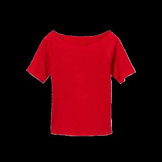 このコーデで使われているGRLのTシャツ/カットソー[レッド]