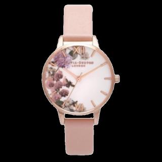 このコーデで使われているOlivia Burtonの腕時計[ピンク]