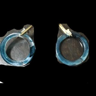 このコーデで使われているBLISS POINTのピアス/イヤリング[ゴールド/ブルー]