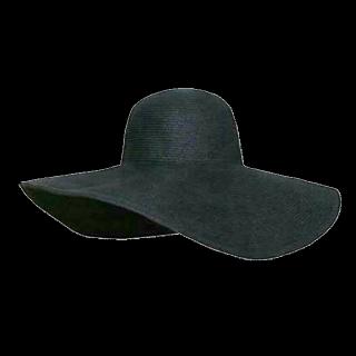 このコーデで使われている女優帽[ブラック]