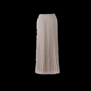 このコーデで使われているUNIQLOのマキシ丈スカート[グレー]