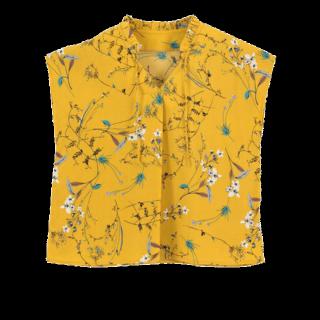 このコーデで使われているtitivateのシャツ/ブラウス[イエロー]