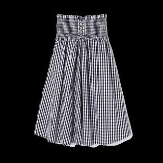 このコーデで使われているFREE'S MARTのミモレ丈スカート[ブラック]