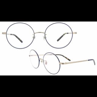 このコーデで使われているZoffのメガネ[ブルー]