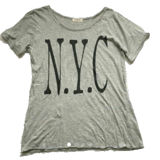 このコーデで使われているFRAMeWORKのTシャツ/カットソー[グレー]