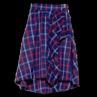 AFRICATAROのミモレ丈スカート