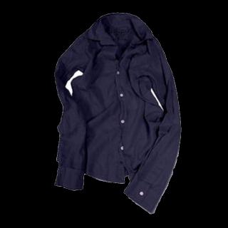 このコーデで使われているHAPTICのシャツ/ブラウス[ネイビー]