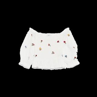 このコーデで使われているZARAのシャツ/ブラウス[ホワイト]