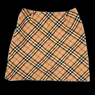 BURBERRY BLUE LABELのミニスカート