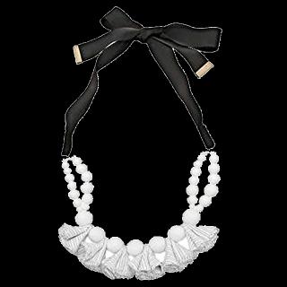 このコーデで使われているFRAY I.Dのネックレス[ホワイト/ブラック]