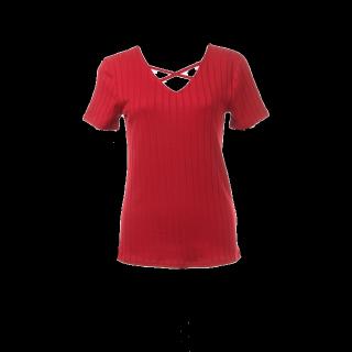 このコーデで使われているINGNIのTシャツ/カットソー[レッド]