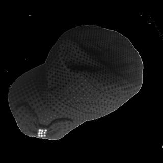 このコーデで使われているINDIVIのキャスケット/マリンキャップ[ブラック]