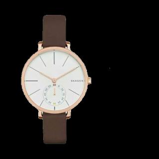 このコーデで使われているSkagenの腕時計[ブラウン]