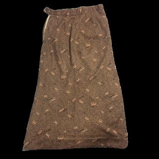 ACNEのマキシ丈スカート