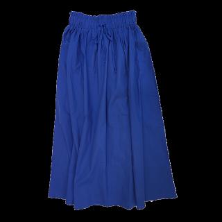 このコーデで使われているCiaopanicのマキシ丈スカート[ブルー]