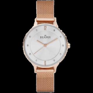このコーデで使われているSKAGEN DENMARKの腕時計[ゴールド]
